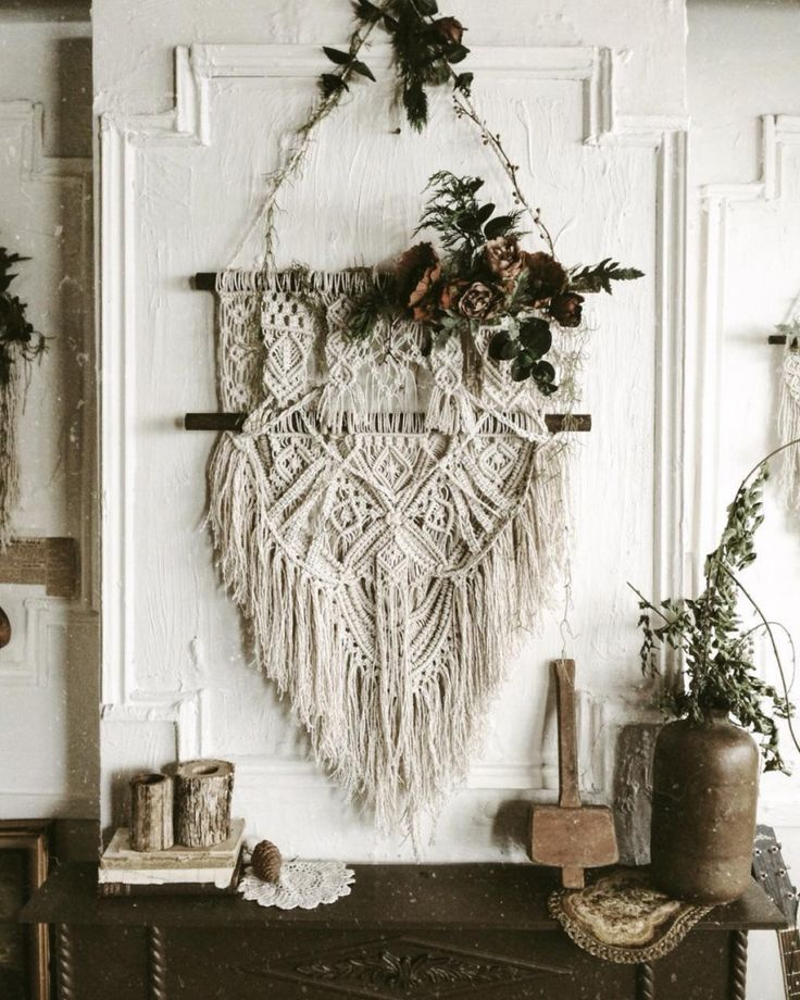 Add Texture To Walls : Add texture to your walls with decorative wall hangings