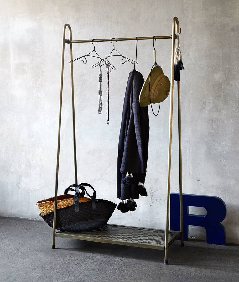 The Alternative to Wardrobes - The Clothes Rail