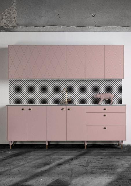 An Alternative Kitchen Splashback - Kitchen Wallpaper by Lime Lace