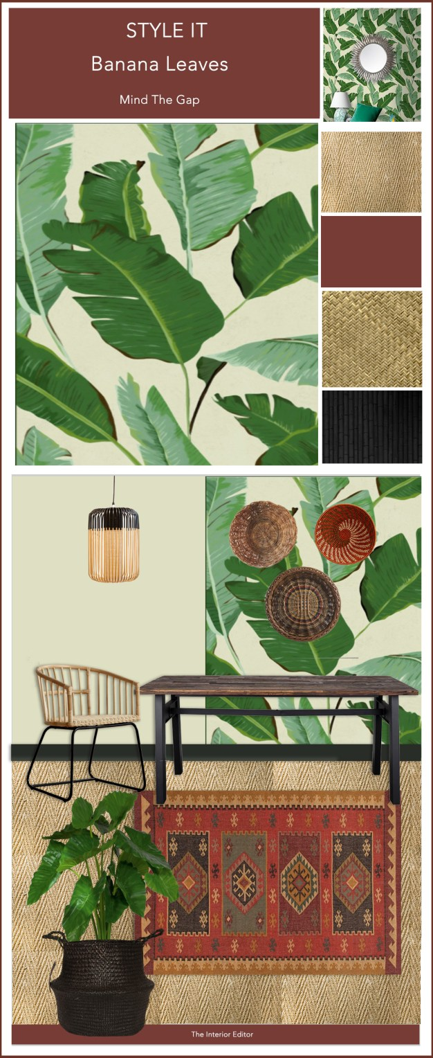 Botanical Wallpapers & How To Use Them