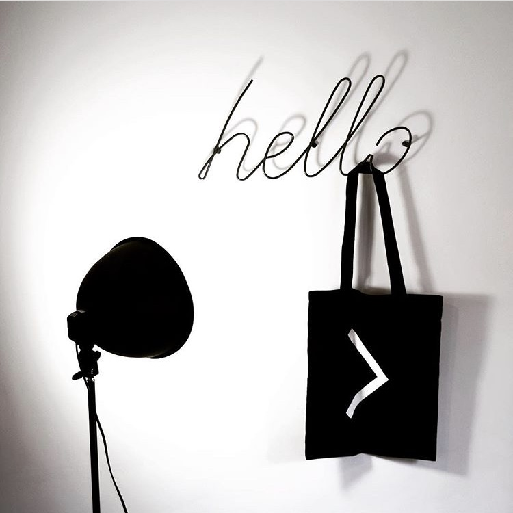 Affordable Design Finds - Hello & Love Coat Racks - The Interior