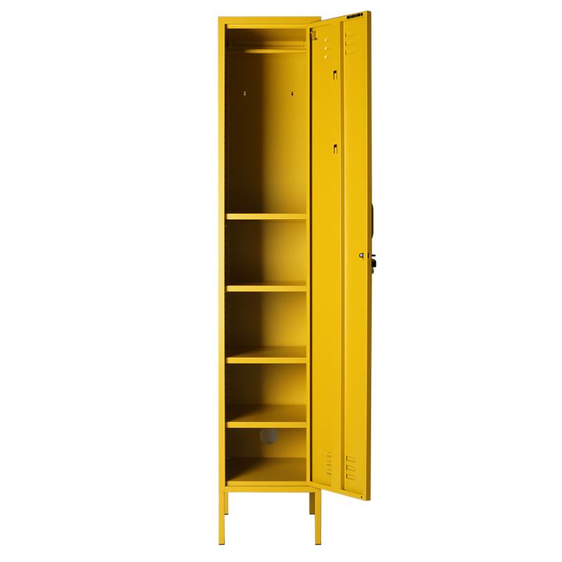 Practical & Versatile Locker Design by Mustard