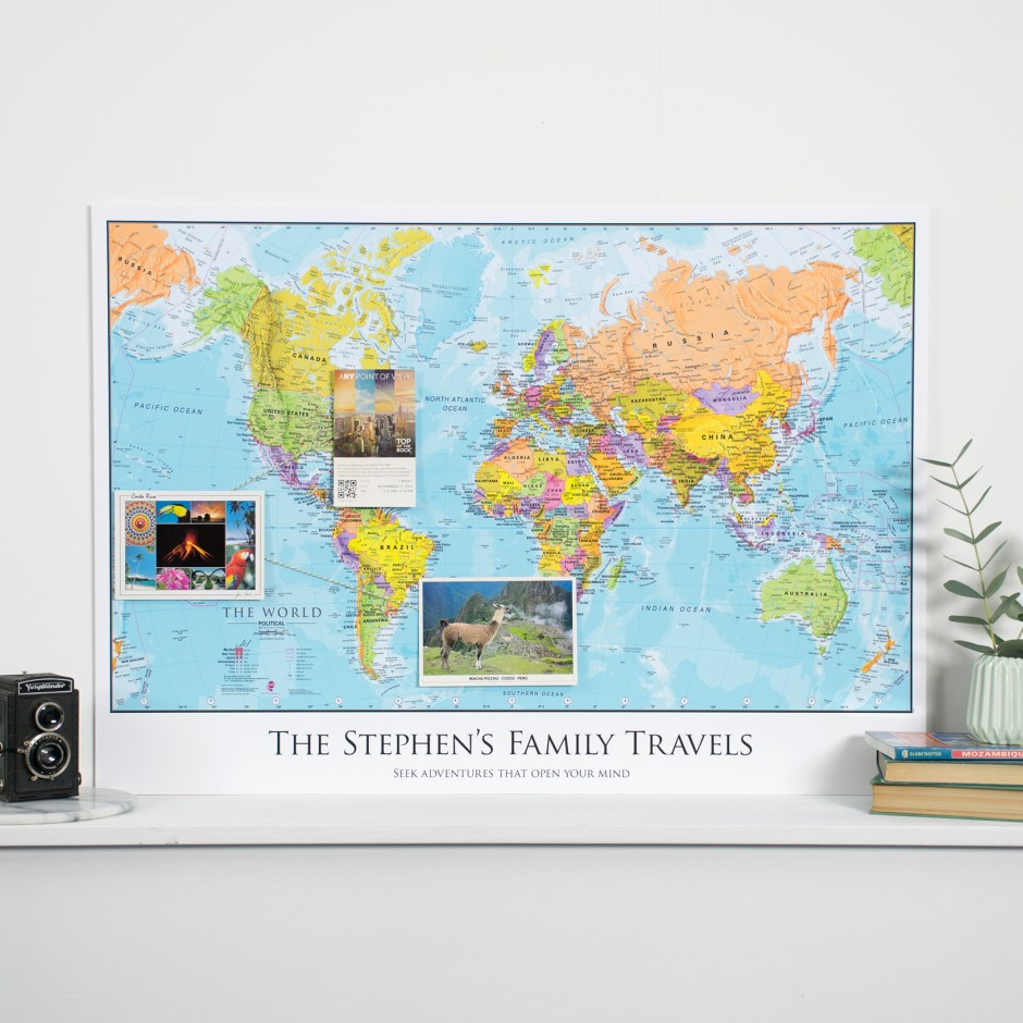 The Best Map Pinboard Ever - Maps International Review
