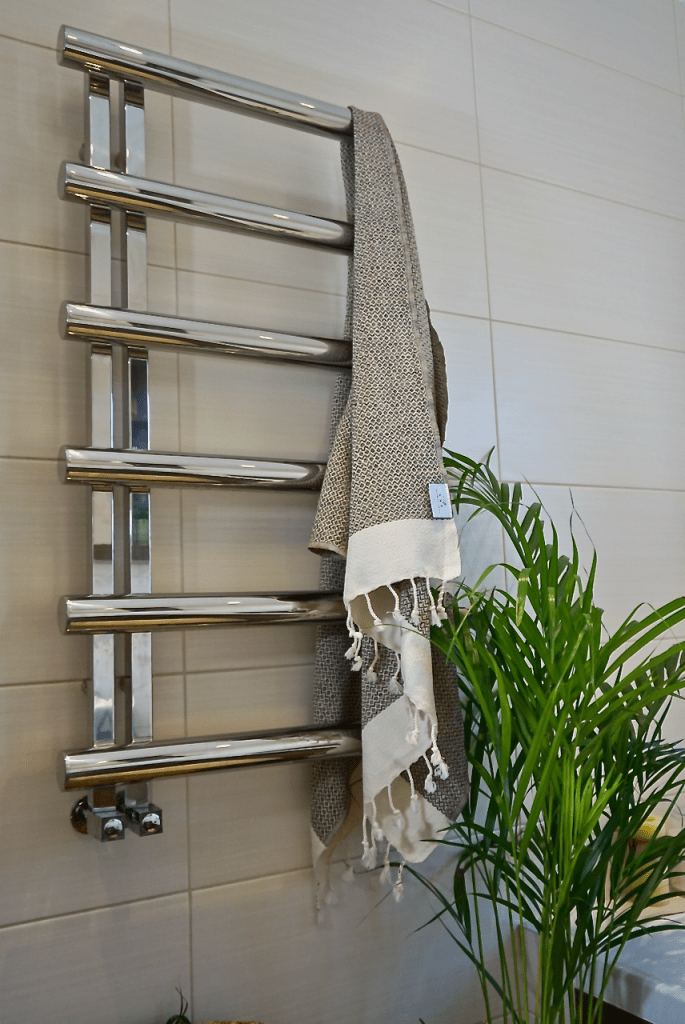 If space is tight, then opting for a Luf towel is a great option for smaller bathrooms and shower rooms as they take up less space than a traditional towelling towel.