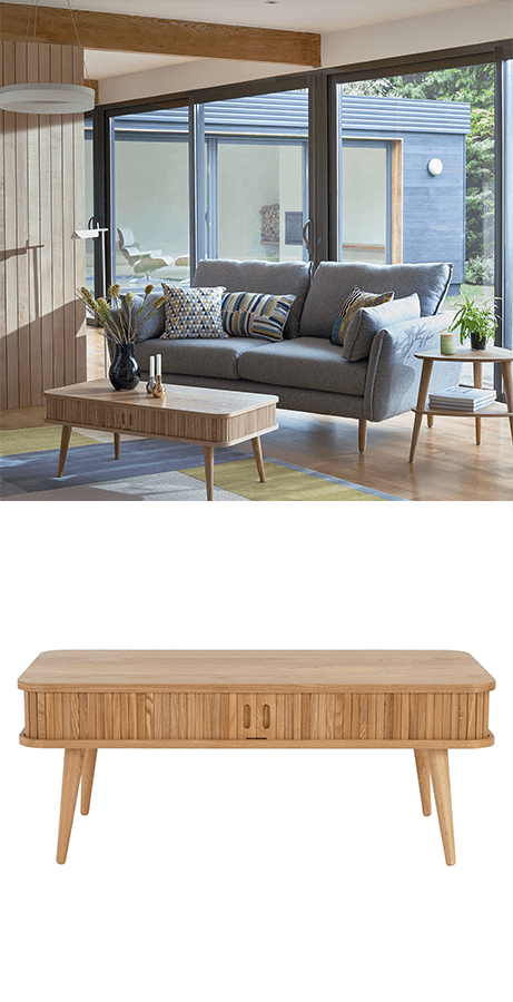 Practical Tables With Drawers & Small Space Living, coffee tables with drawers like this one from John Lewis provide us with the versatility to store and organise our homes and by doing so enhance how we live and use our spaces.