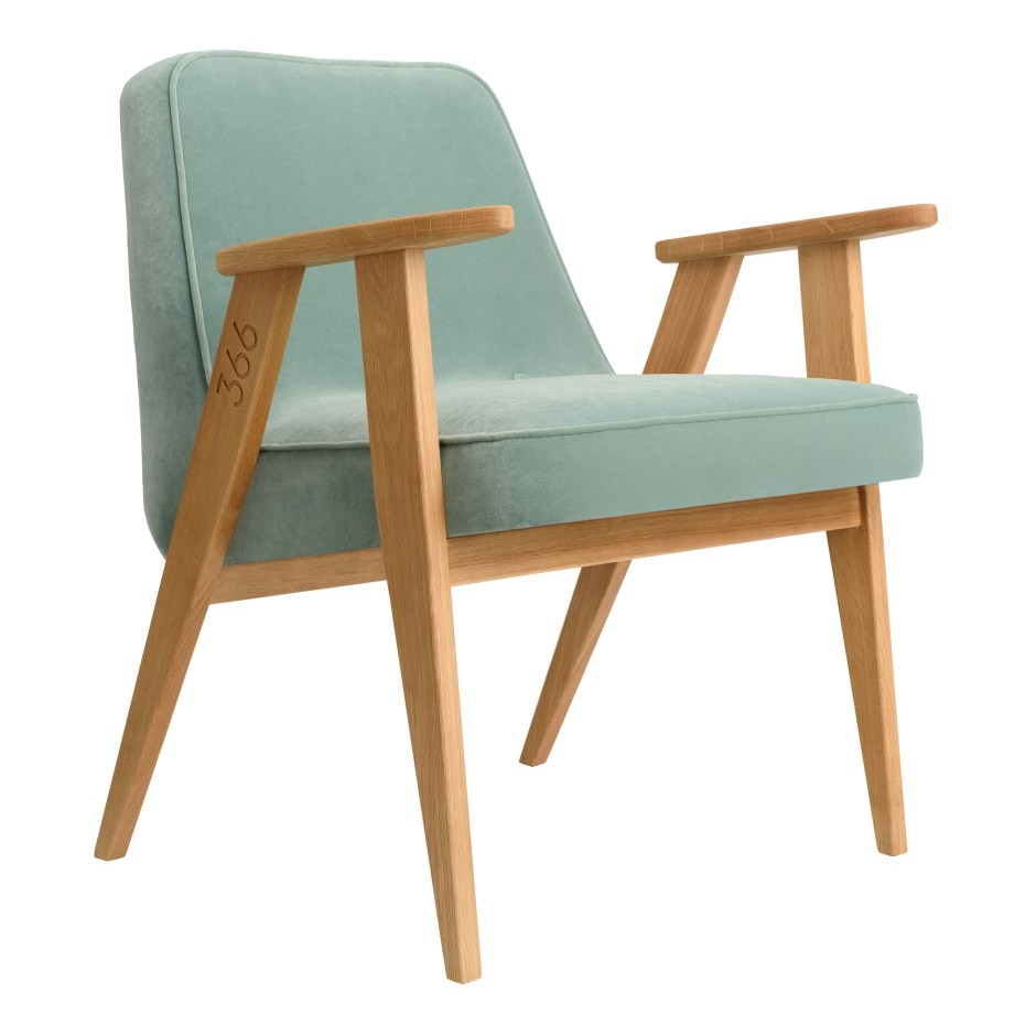 Neo Mint - The Colour of 2020 - 366 Armchair from Lime Lace is the perfect occasional armchair to add a pop of Neo Mint colour into your living rooms.