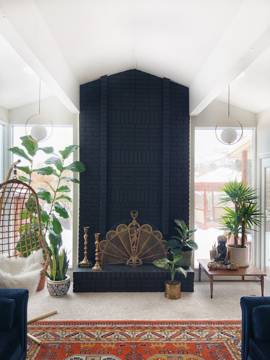 An Eclectic '70s Home Filled With Vintage Finds - Jenasie Earl