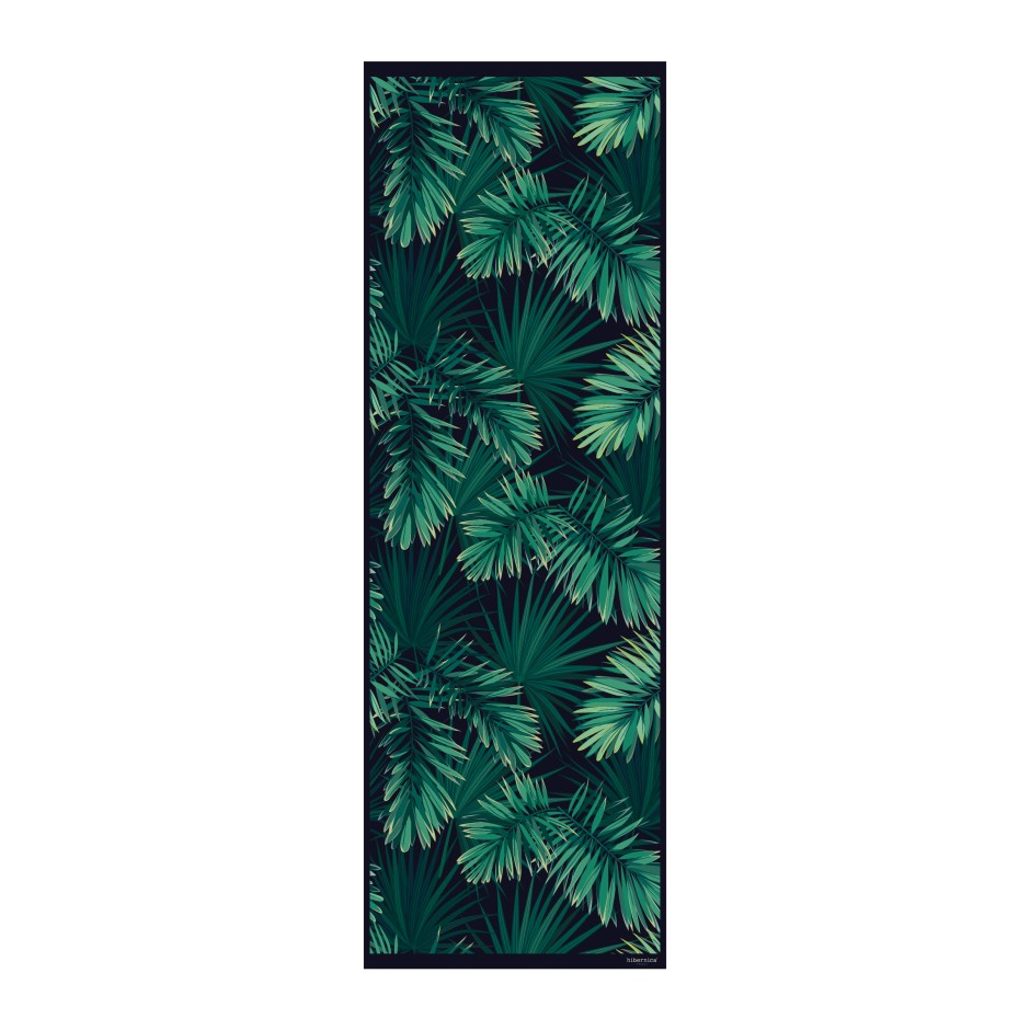 Small Hallway Makeover Plans & Top Tips To Decorate Your Own | Hibernica Collection Jungle Vinyl Floor Mat - Amara Easy to care for and hardwearing ideal for hallways.