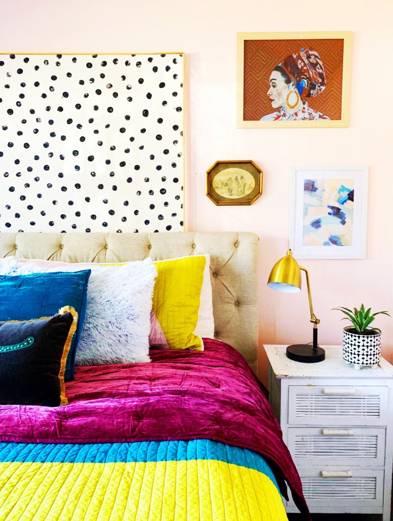 Vibrant Colourful Mid-Century Home of Kara Brown