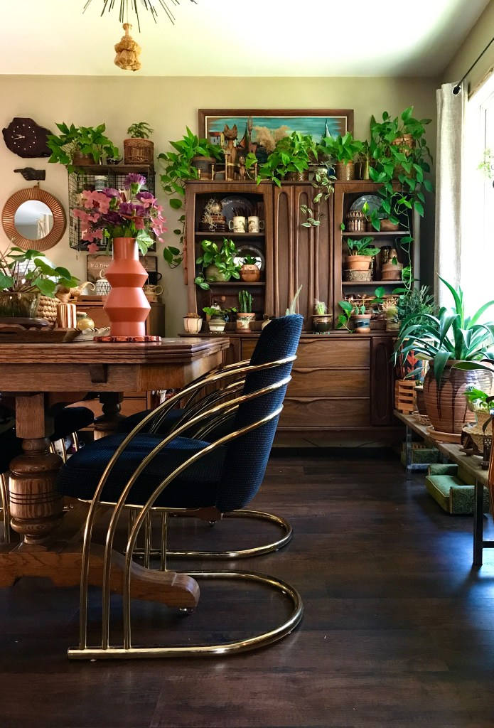 The '70's Vibe Plant Loving Home of Audrey Plew