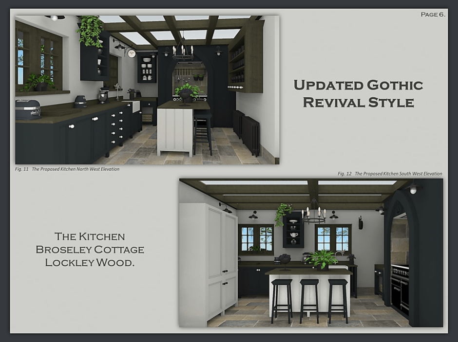 Wentworth Heritage - Design Solutions For Historic Properties - A Multi-Service Heritage Business - 3d model of listed gothic revival property