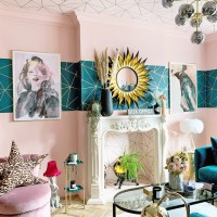 The Glamorous Colourful & Pattern Filled Home of Cara Baker