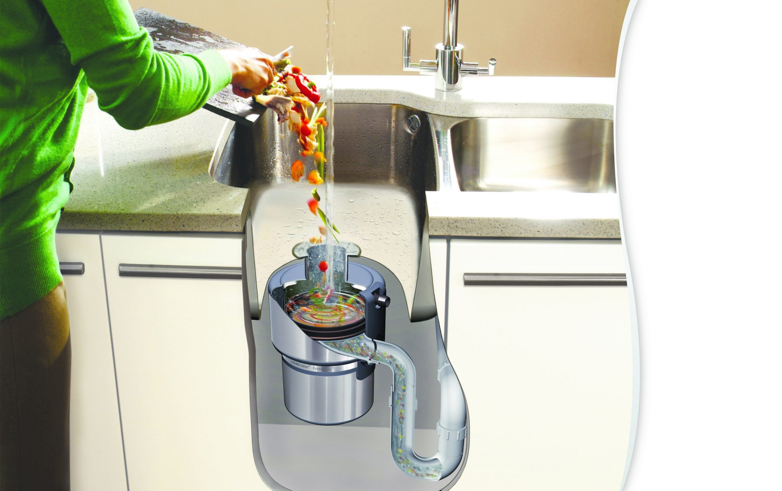 InSinkErator Food Waste Disposal - Practical Kitchen Solutions - The  Interior Editor