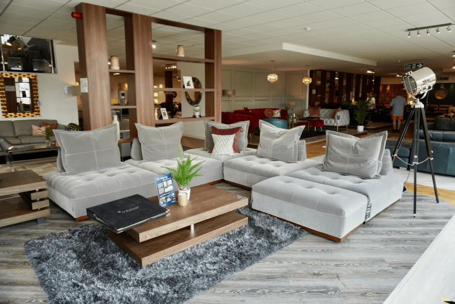 The Weekend - Sofology modular sofa  perfect for open plan cinema rooms | The Best Choice of Sofas & Sofology's Autumn 2020 Collections