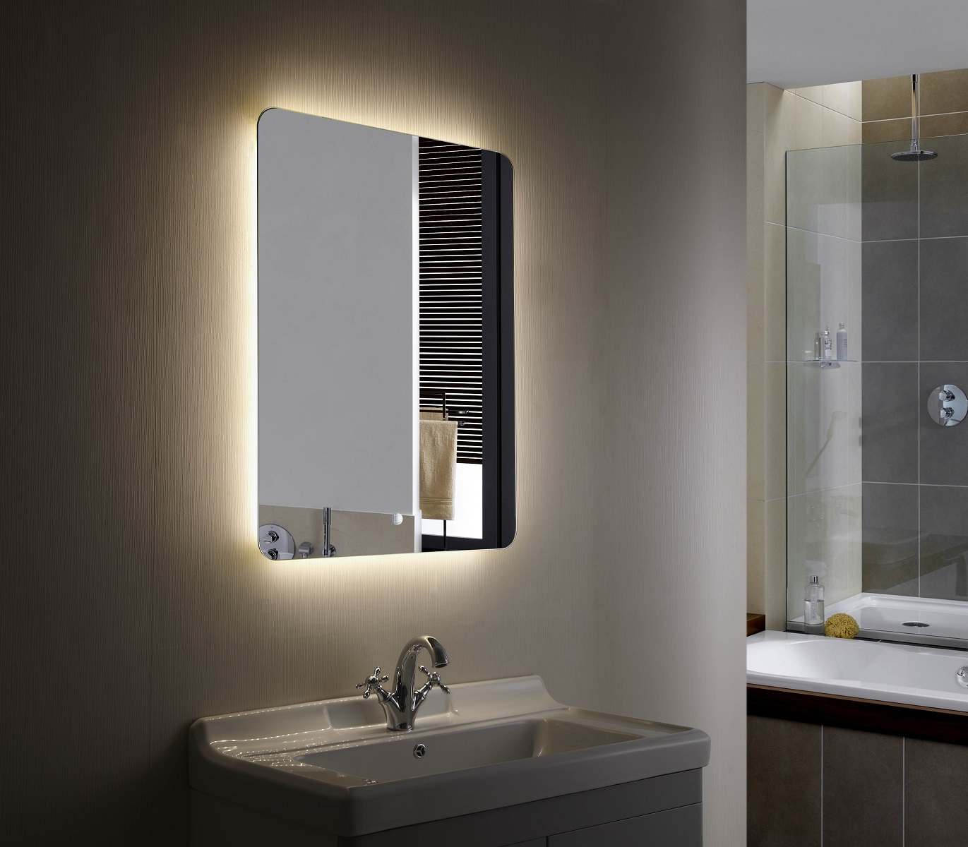 Illuminated Bathroom Mirror Backlit Mirror Led Bathroom Mirror Montana Ii