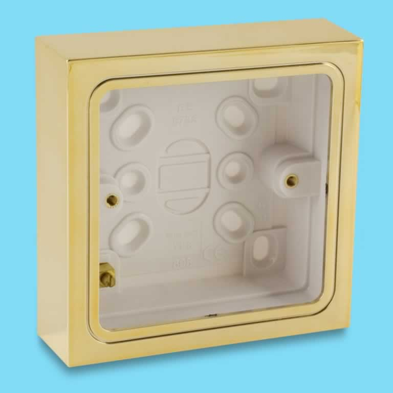 Wall Mounted Lamps With Plug Varilight Single Patress Wall Box For Surface Mounting