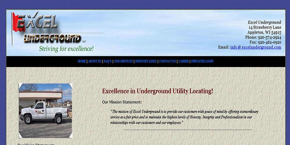 Excel Underground