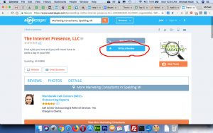The Internet Presence review on SuperPages