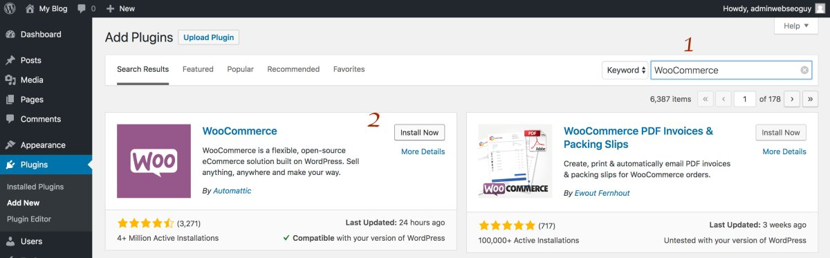 How to Install WooCommerce for 2019