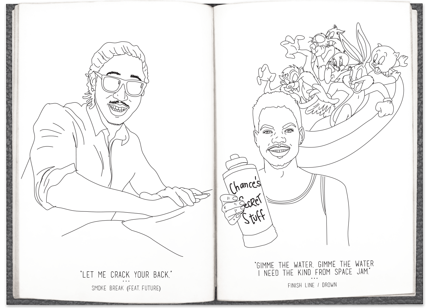 Here's, Very Literally, A Chance The Rapper 'Coloring Book