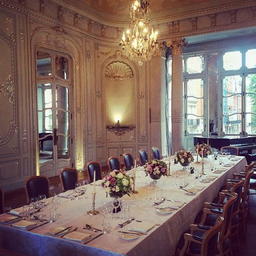 Enjoy a quintessential Victorian dining experience at the Savile Club