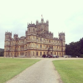 The magnificent Highclere casttle