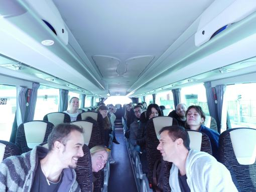 Canals provided coach transport free of charge