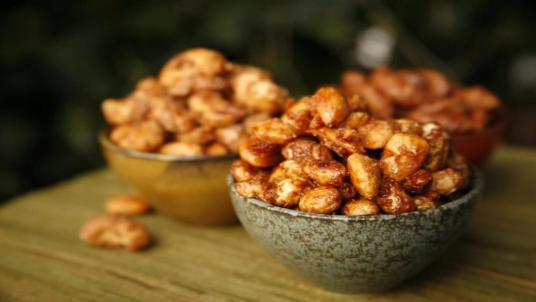 Gluten Free and Vegan Sweet Nuts