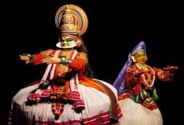 View the amazing Cochin harbor before watching a local exotic Kerala dance formed from an ancient martial art