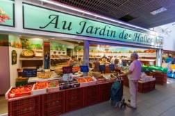 Fresh local produce at Les Halles
