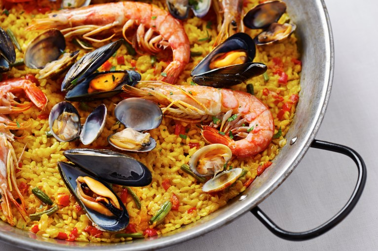 Typical Paella
