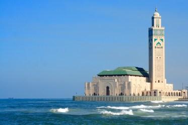 Hassan II Mosque Sea View