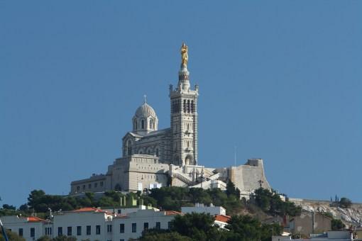 Notre Dame de la Garde Close Up