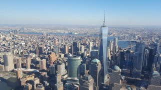 Fantastic view of One World Observatory