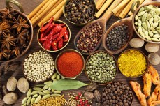 Spices and Indian herbs