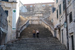 """Stairs from Cersei's """"Walk of Shame"""""""