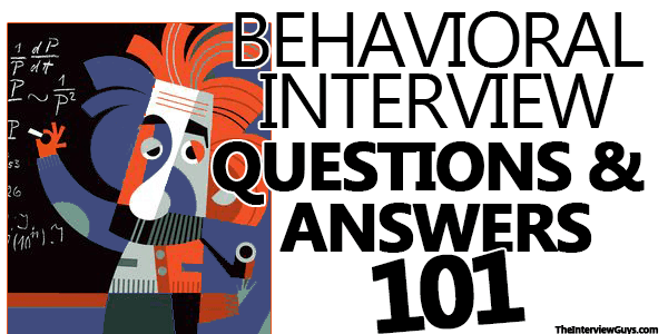 behavioural interview questions and answers