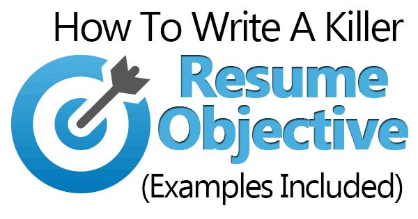 Resume Objective2