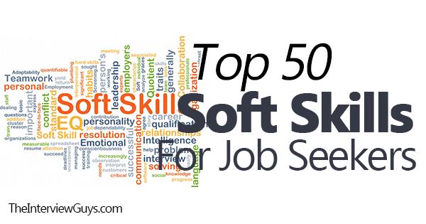 skills in applying a job