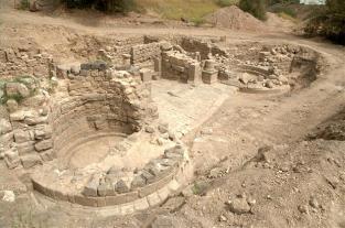 Ruins in Tiberias