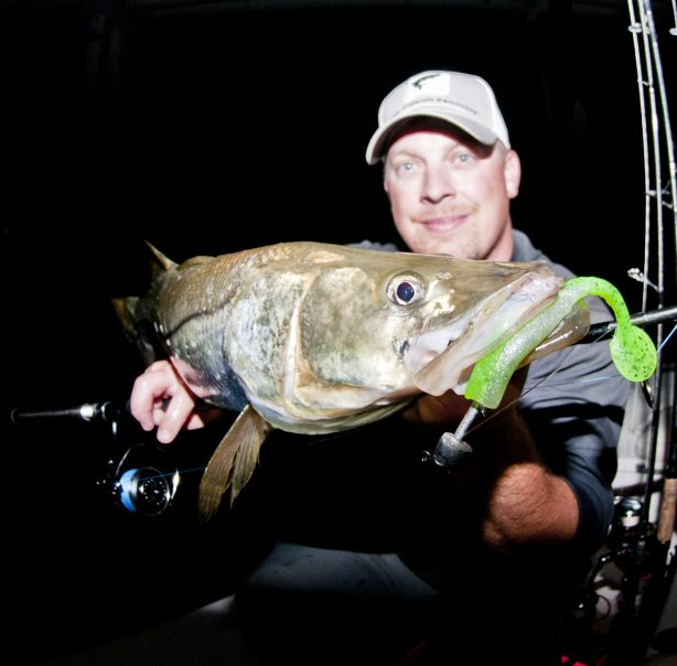Snook Thumper Paddle Tail