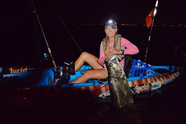 Christina Weber Tarpon Fishing Intrepid Angler