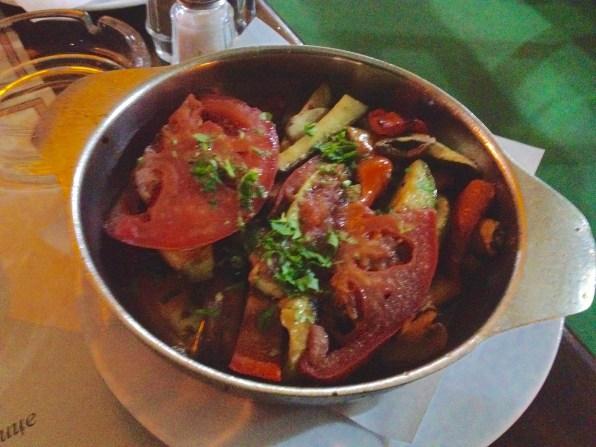 Traditional food at Stara Hercegovina