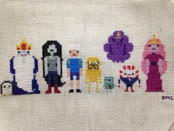 Adventure Time Crossstitch!