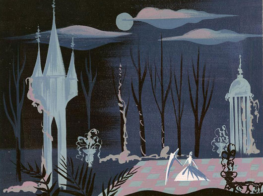 "More concept art for Disney's ""Cinderella"" by Blair"