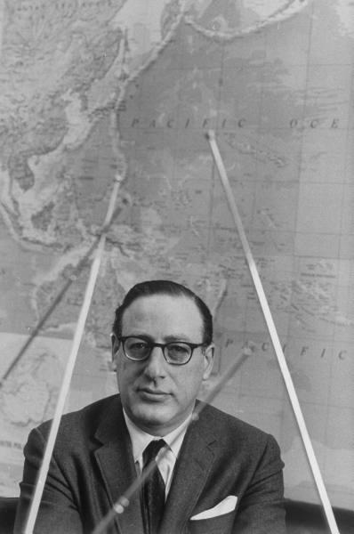 CBS Pres. Fred Friendly - 1967