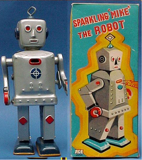 Sparkling Mike the Robot - SNK 1960's
