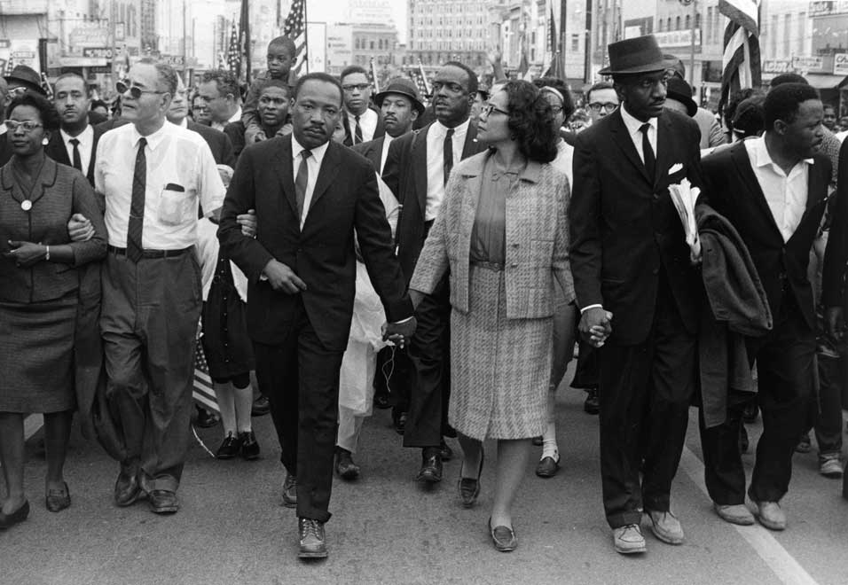 Protesting in style - Alabama 1965 - The hats, suits, and ties are great!