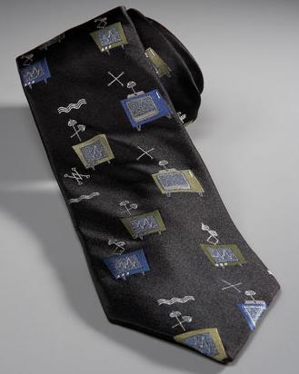 Vintage Television Tie