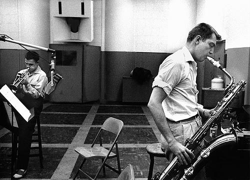 Bud Shank on Bari - Here with Chet Baker